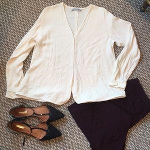 Giorgio Armani Collection cream blouse
